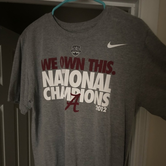 Nike Other - Alabama National championship T-shirt